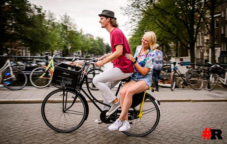 Велосипедная прогулка в нидерландах
