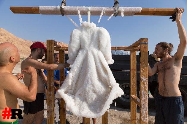 Солевое платье