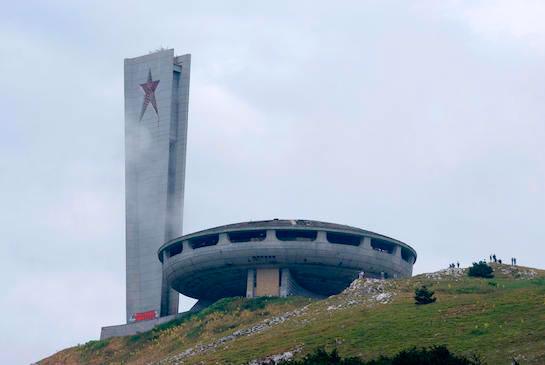 Buzludzha Monument, Kzanlak, Bulgaria