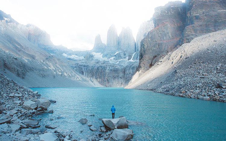 Торрес дель Пайне Национальный парк.
