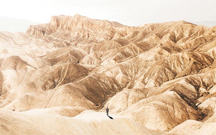 Забриски Пойнт, Национальный парк Valley, Калифорния