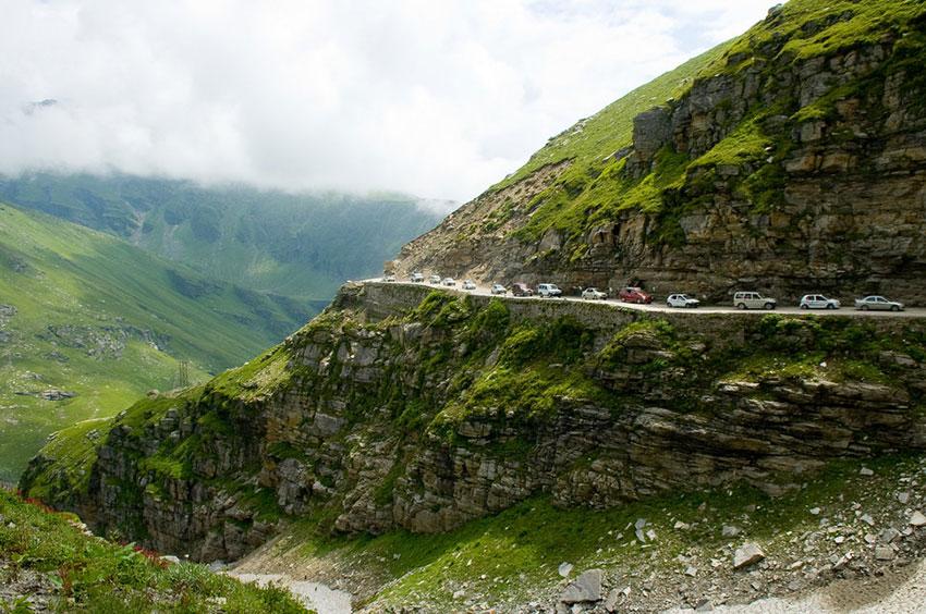 Горная дорога Индии