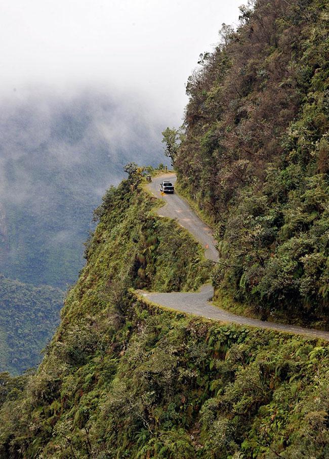 Опасная дорога в боливии