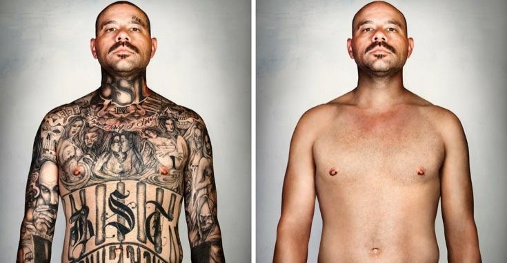 Люди с татуировками и без бандиты преступники