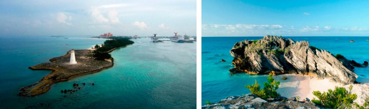 Бермуды природа море