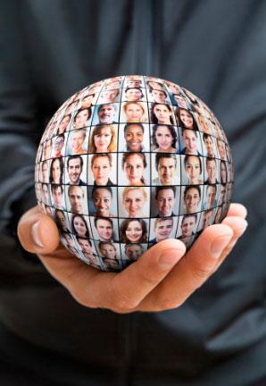 Социальная сеть на ладони