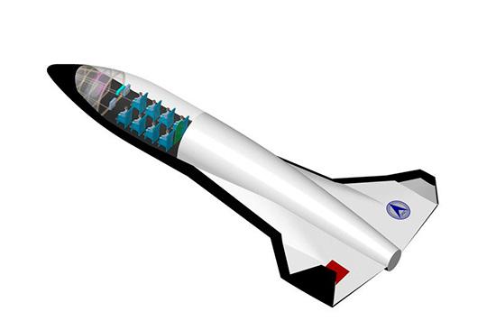 устройство космического самолета