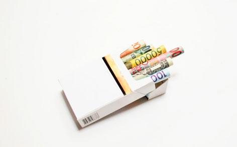 деньги на сигареты