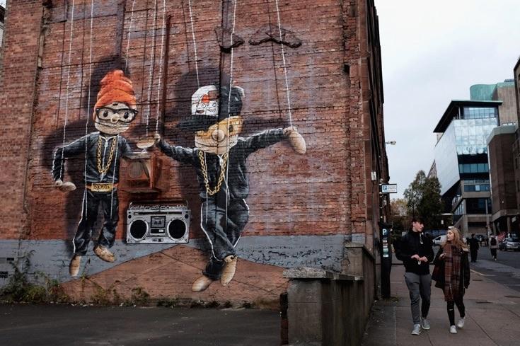 уличное искусство граффити