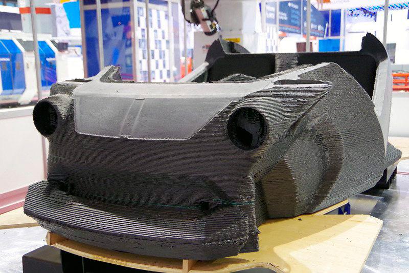 3D печать автомобиль