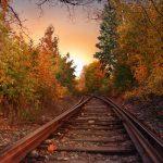 Осенний поезд