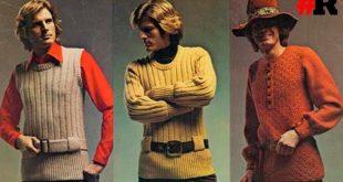 мужская мода 70х
