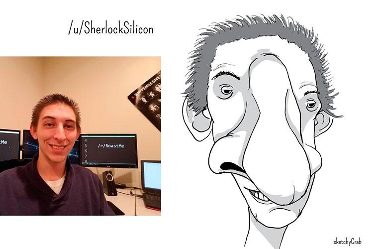 Roast me - смешные скетчи от SketchyCrab