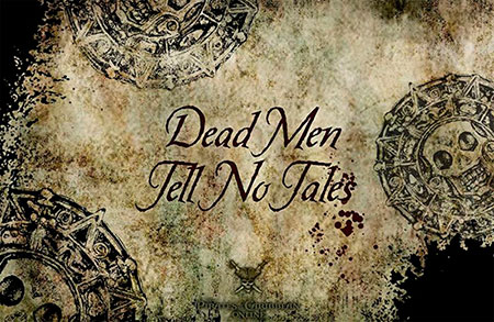 Пираты карибского моря, мертвецы не рассказывают сказки
