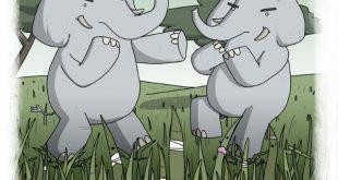 Когда слоны дерутся болше всего страдает трава, кенийская поговорка