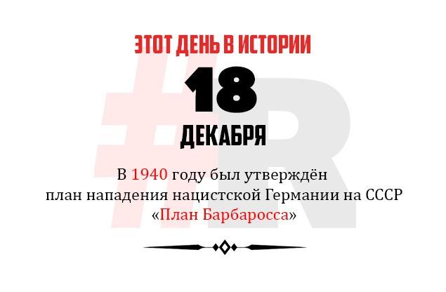 День в истории 18 декабря